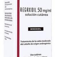 REGAXIDIL 50 mg/ml SOLUCION CUTANEA, 1 frasco de 60 ml