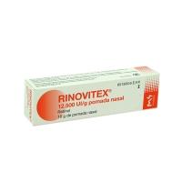 RINOVITEX 12.500 UI /g POMADA NASAL, 1 tubo de 10 g