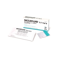 SICCAFLUID 2,5 mg/g GEL OFTALMICO EN UNIDOSIS, 30 envases unidosis de 0,5 g