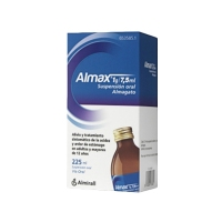 ALMAX 1g/7,5 ml SUSPENSION ORAL, 1 frasco de 225 ml