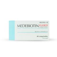 MEDEBIOTIN FUERTE COMPRIMIDOS, 40 comprimidos