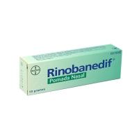 RINOBANEDIF POMADA NASAL, 1 tubo de 10 g