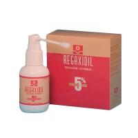 REGAXIDIL 50 mg/ml SOLUCION CUTANEA, 3 frascos de 60 ml