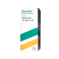 ROMILAR 15 mg/5 ml JARABE, 1 frasco de 200 ml