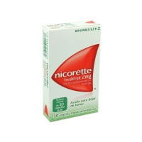 NICORETTE FRESHFRUIT 2 mg CHICLES MEDICAMENTOSOS, 30 chicles