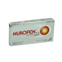 NUROFEN 400 mg COMPRIMIDOS RECUBIERTOS, 12 comprimidos
