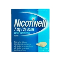 NICOTINELL 7 mg/24 HORAS PARCHES  TRANSDERMICOS, 14 parches