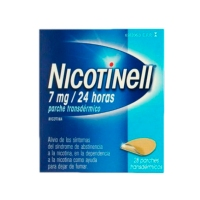NICOTINELL 7 mg/24 HORAS PARCHES  TRANSDERMICOS, 28 parches