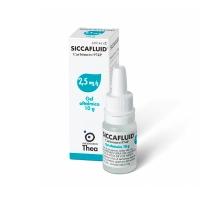 SICCAFLUID 2,5 mg/g GEL OFTALMICO, 1 tubo de 10 g