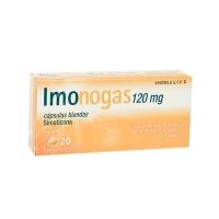 IMONOGAS 120 mg CAPSULAS BLANDAS, 20 cápsulas