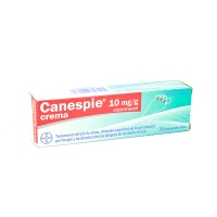 CANESPIE CLOTRIMAZOL 10 mg/g CREMA, 1 tubo de 30 g