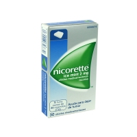 NICORETTE ICE MINT 2 MGR 30 CHICLES