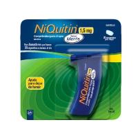 NIQUITIN 1,5 mg COMPRIMIDOS PARA CHUPAR SABOR MENTA, 20 comprimidos