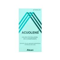 ACUOLENS 3 mg/ml + 5,5 mg/ml COLIRIO EN SOLUCION EN ENVASE UNIDOSIS, 30 envases unidosis de 0,5 ml