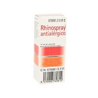 RHINOSPRAY ANTIALERGICO, 1 envase pulverizador de 12 ml