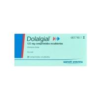 DOLALGIAL 125 mg COMPRIMIDOS RECUBIERTOS, 20 comprimidos