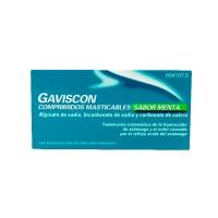GAVISCON COMPRIMIDOS MASTICABLES SABOR MENTA, 32 comprimidos (BLISTER)