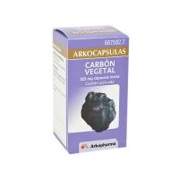 ARKOCAPSULAS CARBON VEGETAL 225 mg CAPSULAS DURAS, 50 cápsulas