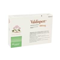 VALDISPERT 450 MG COMPRIMIDOS RECUBIERTOS, 20 comprimidos