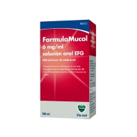 FORMULAMUCOL 6 MG/ML SOLUCION ORAL EFG, 1 frasco de 100 ml
