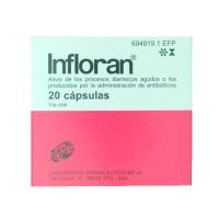 INFLORAN CAPSULAS, 20 cápsulas