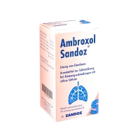 AMBROXOL SANDOZ 3mg/ml JARABE EFG, 1 frasco de 125 ml