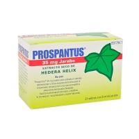 PROSPANTUS 35 MG JARABE, 21 sobres de 5 ml
