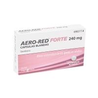 AERO-RED FORTE 240 MG CAPSULAS BLANDAS, 20 cápsulas blandas