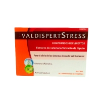 VALDISPERTSTRESS  COMPRIMIDOS RECUBIERTOS, 20 comprimidos