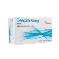 BEACITA 60 MG CAPSULAS DURAS, 84 cápsulas (Blister Al/PVC/PVDC)