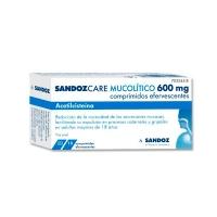 SANDOZCARE MUCOLITICO 600 mg comprimidos efervescentes EFG, 10 comprimidos