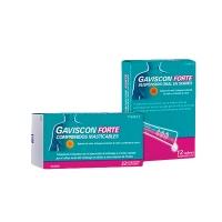GAVISCON FORTE COMPRIMIDOS MASTICABLES, 32 comprimidos