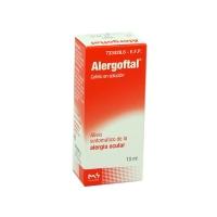 ALERGOFTAL SOLUCION OFTALMICA, 1 frasco de 10 ml