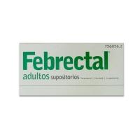 FEBRECTAL ADULTOS 600 mg SUPOSITORIOS, 6 supositorios