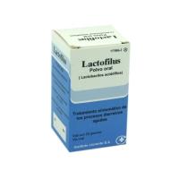 LACTOFILUS POLVO ORAL, 1 frasco de 20 g