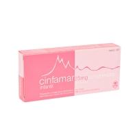 CINFAMAR INFANTIL 25 mg COMPRIMIDOS RECUBIERTOS, 10 comprimidos