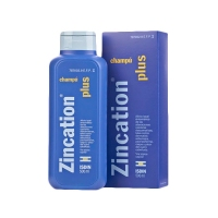 ZINCATION PLUS 10 mg/4 mg/ml CHAMPU, 1 frasco de 500 ml