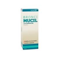 BRONCIMUCIL 0,25% SUSPENSION ORAL, 1 frasco de 200 ml