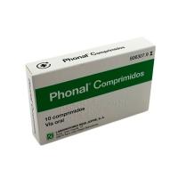 PHONAL COMPRIMIDOS, 10 comprimidos