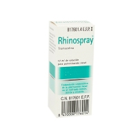 RHINOSPRAY 1,18 mg/ ml SOLUCION PARA PULVERIZACION NASAL, 1 envase pulverizador de 12 ml