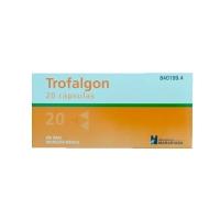 TROFALGON CAPSULAS DURAS, 20 cápsulas