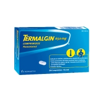 TERMALGIN 650 MG 20 COMP