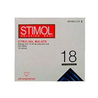 STIMOL SOLUCION ORAL, 18 sobres