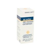 ACEITE RICINO ORRAVAN 1mg/ml LIQUIDO ORAL, 1 frasco de 25 g
