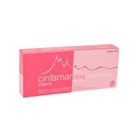 CINFAMAR INFANTIL 25 mg COMPRIMIDOS RECUBIERTOS, 4 comprimidos