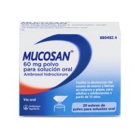 MUCOSAN 60 mg polvo para solución oral, 20 sobres