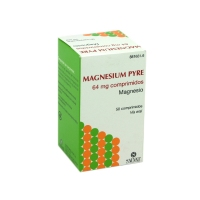 MAGNESIUM PYRE 64 mg COMPRIMIDOS, 50 comprimidos