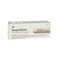 IBUPROFENO FARMASIERRA  50 mg/ g GEL, 1 tubo de 50 g