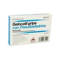 GELOCATIL GRIPE CON PSEUDOEFEDRINA COMPRIMIDOS, 20 comprimidos