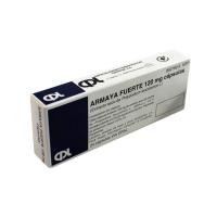 ARMAYA FUERTE 120 mg CAPSULAS DURAS, 24 cápsulas